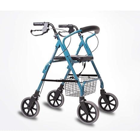 Olydmsky Carrello Per Anziani Passeggiatore A Quattro Ruote In
