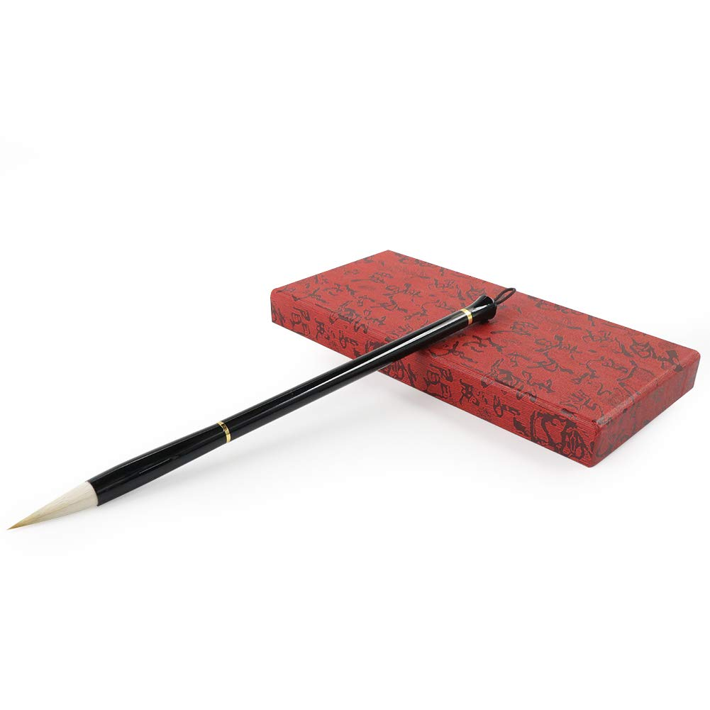 Wancetang Chinese Calligraphy sumi Brush Set for Calligraphy Paintings//Writing Replaceable Brush Jian Hao, Large, Medium and Small Size