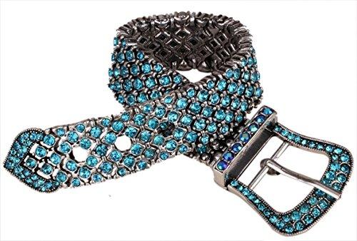 Belt Buckle Shape Stretch Bracelet Adjustable (Rhinestone Buckle Bracelet)