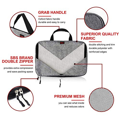 Buy rated packing cubes