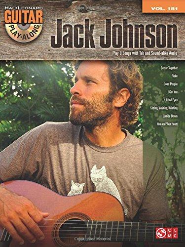 Jack Johnson: Guitar Play-Along Volume 181 (Hal Leonard Guitar Play-Along)