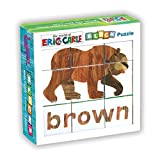 eric carle bear - Mudpuppy The World of Eric Carle Brown Bear Puzzle – Colorful Puzzle Pieces Form 6 Lovable Book Characters for Ages 1-3