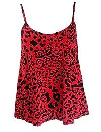 Women Plus Size Camisole Strappy Swing TOP Cami Vest