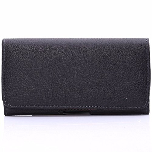 Semoss Funda Cintur/ón de Piel con Clip para Samsung Galaxy A5 2016 Protectora Carcasa Cuero Holster Bolso Case Cover Negro