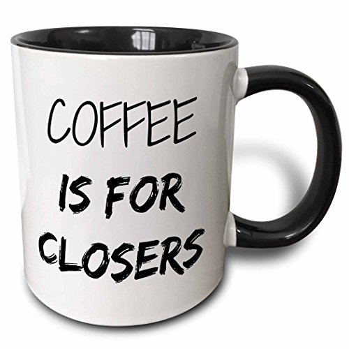 3dRose mug 218481 4 Coffee Closers Black