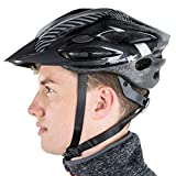 Trespass CRANKSTER Unisex Cycle Helmet BLACK L/XL