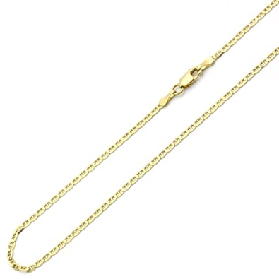 jewelry dp resistant patented fashion amazon chains usa tarnish com link cuban curb chain smooth gold necklace