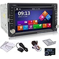 Ouku 6.2 2Din LCD TFT in Dash Car DVD Player with DVD/CD/MP3/MP4/USB/SD/Radio/BT/Stereo/Audio GPS Navigation With Map Card