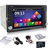 Ouku 6.2'' 2Din LCD TFT in Dash Car DVD Player with DVD/CD/MP3/MP4/USB/SD/Radio/BT/Stereo/Audio GPS Navigation With Map Card