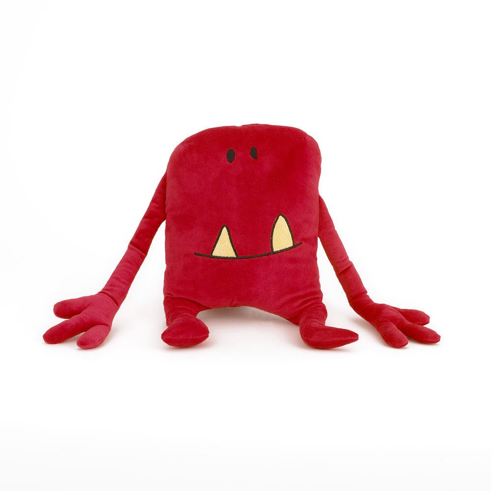 Amazon.com: Monster Pals Rojo Almohada: Kitchen & Dining