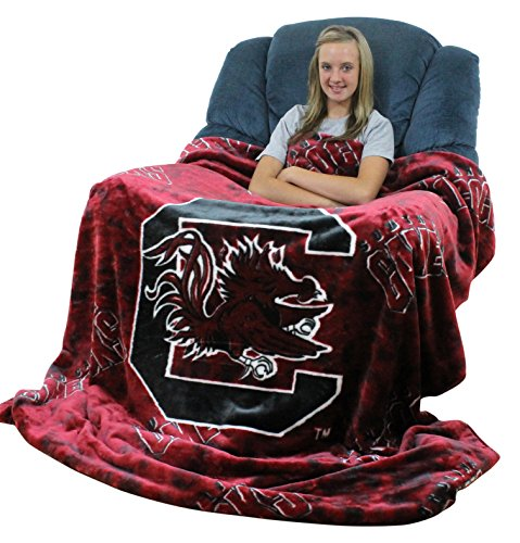 (College Covers South Carolina Gamecocks Throw Blanket/Bedspread)