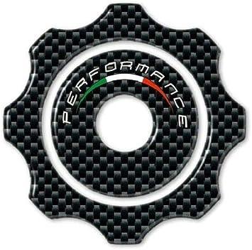 ADESIVO 3D TAPPO SERBATOIO compatibile per MOTO DUCATI HYPERMOTARD HYPERSTRADA