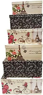 Alef Extra grande Nesting cajas de regalo diseño de elegante y ...