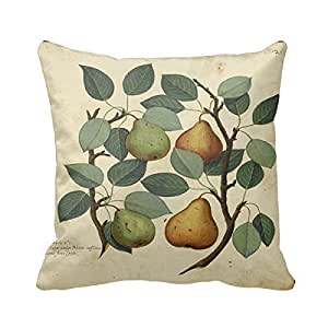 Home Sofa Decorative Pillow Cover Fruit Pear Italian Cushion Cover for Living Room Decorative Pillow case