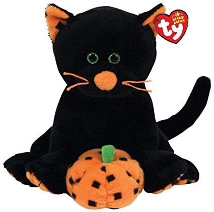 f5c269347fd Image Unavailable. Image not available for. Color  Ty Beanie Babies  Superstition - Black Cat