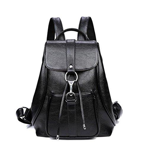 borsa molle zaino La 32cm casuale modo borsa PU di multifunzionale 25 donne cuoio delle 13 di xqXvPwqUg