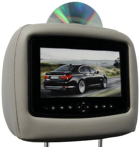 CarShow by Rosen CS-HDODY11-G12 Single DVD Headrest System