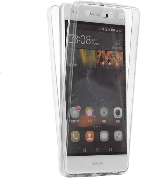 PLANETMOVIL [Huawei Y6 2017] Funda DE Silicona Delantera + Trasera ...