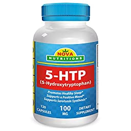 5-HTP 100 mg 120 Capsules by Nova Nutritions