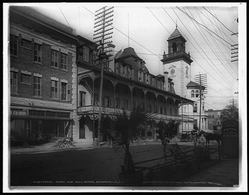 Photo: Hotel Duval,Post - Stores Street Duval
