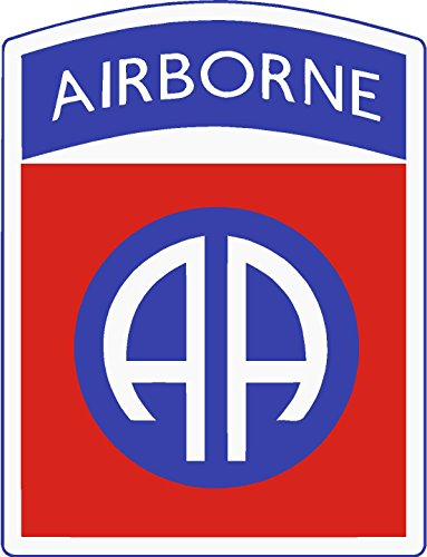 (3) 82nd airborne division 2x1 size - stickers for constrution hard hat pro union working men lunch box tool box symbol window motorcycle biker car - Made and shipped in USA