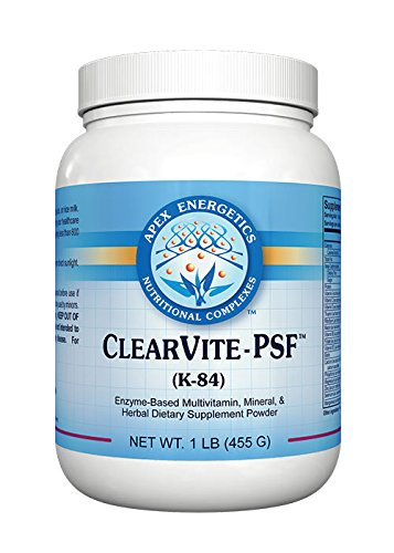 Energetics Clearvite - PSF (K-84),net wt 1LB (455g) by Apex Energetics (Image #1)