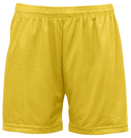 "Badger 7216 BD Ladies' Mesh Sht 5""Ins"