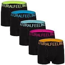 Men's Underwear for Men Boxer Brief Cotton Mens Underwear Boxer Briefs Pack