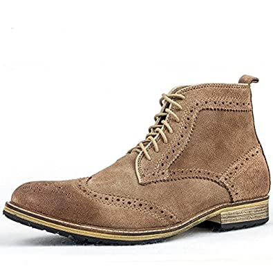 Fall/winter boots men's boots/casual suede boots carved/boots in England/working boots