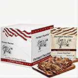 Patriot Pantry Freeze-Dried Beef Case Pack (24 servings, 6 pk.) Bulk Emergency Food in Convenient Case Packs, Up to 25-Year Shelf Life