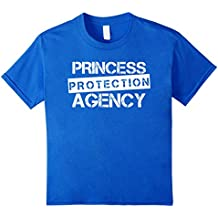 Princess Protection Agency Shirt for Fathers and Daughters