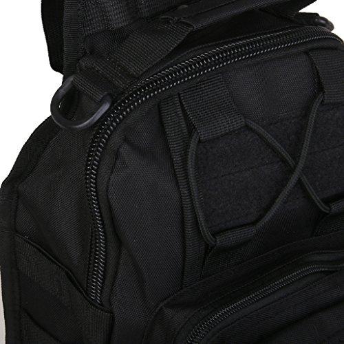Outdoor-Schulter Militär Taktische Rucksack Camping Wandern Tasche #1 Bj1TB