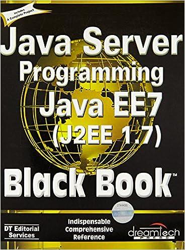 Java Server Programming Java Ee 6 Black Book Pdf