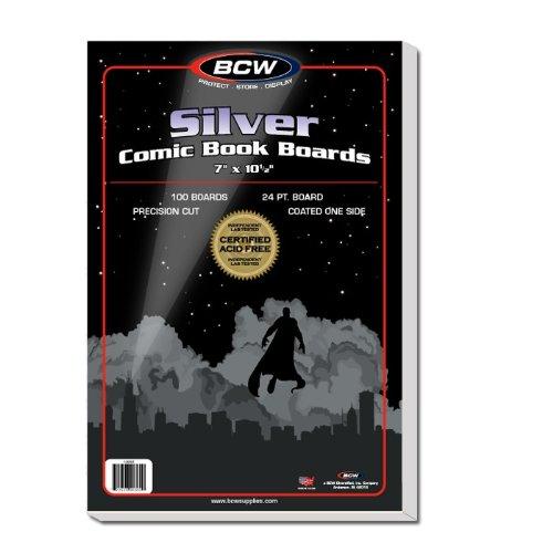 1000 Ct. Silver Comic Book Bags & Boards
