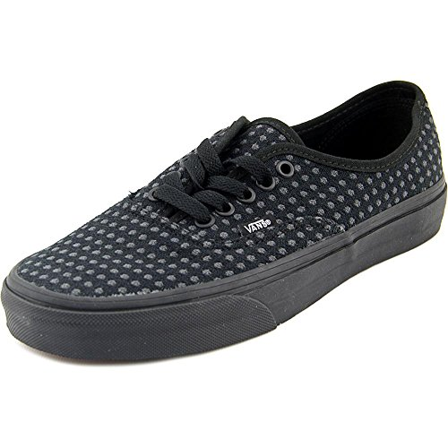 Black Dots Vans Authentic Donna wool Skate black Scarpe x6nFwq7R