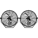 Simple Deluxe 18 Inch Industrial Wall Mount Fan, 3