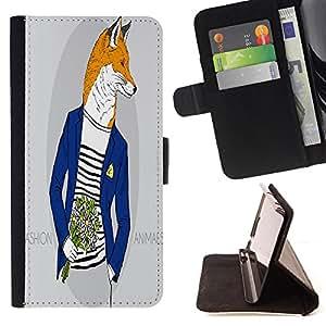 King Case - FOR Apple Iphone 6 PLUS 5.5 - change the world - Prima caja de la PU billetera de cuero con ranuras para tarjetas, efectivo Compartimiento desmontable y correa para la mu?eca