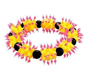 Pulseras de silicona picadura Chic-Net amarillo-naranja de encaje rosa pulseras de silicona joyas pulsera pulsera de silicona