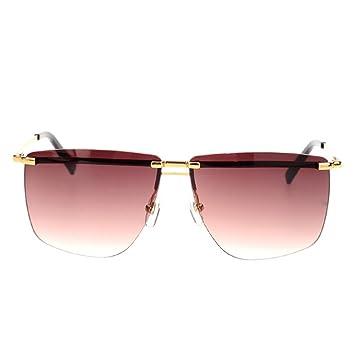 Wkaijc Große Box Augenbrauen Rahmen Personalisierte Männer Und Frauen Kreativ Stilvoll Bequem Sonnenbrillen Sonnenbrillen ,B