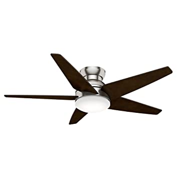 casablanca 59022 isotope 52 inch 5 blade single light ceiling fan