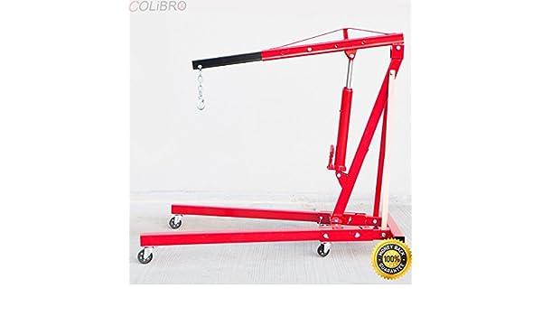 Amazon com: COLIBROX--Heavy duty 2 Ton Double Pump Folding