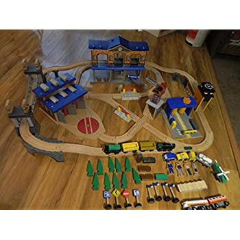 Imaginarium City Central Train Table  sc 1 st  Amazon.com : imaginarium table train set - Pezcame.Com