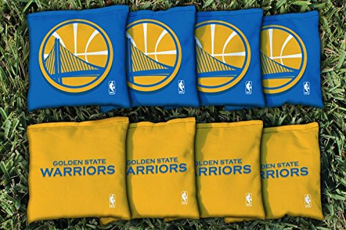 Victory Tailgate 8 Golden State Warriors Regulation All Weather Cornhole Bags -