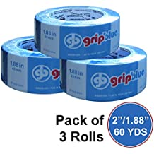 """GripBlue ™ 2"""" (1.88""""/48mm) X 60 YDs Multi-Use Blue Painters Tape 