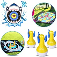 WEY&FLY Inflatable Darts Game, Indoor or Outdoor Games for Yard Games and Fun Family Games for Kids and Ad