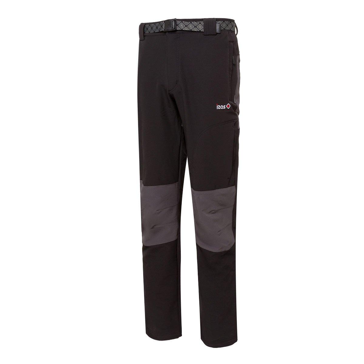 Izas Vinson Pantalón de montaña, Hombre, Negro/Gris Oscuro, M