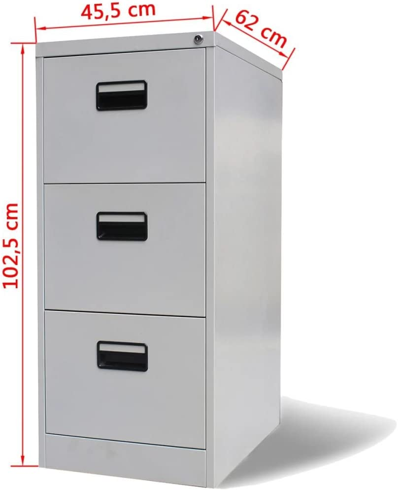 Amazon.com: AYNEFY Steel Office Cabinet File Storage with 30