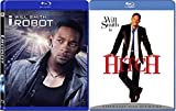 Will Smith 2-Movie Collection - Hitch & I-Robot 2-Blu-ray Bundle