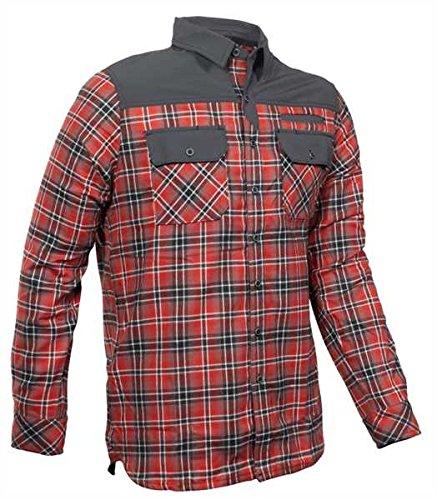5.1100000000000003 Endeavor L/S Flannel Shirt Oxide Red PLD, X-Large