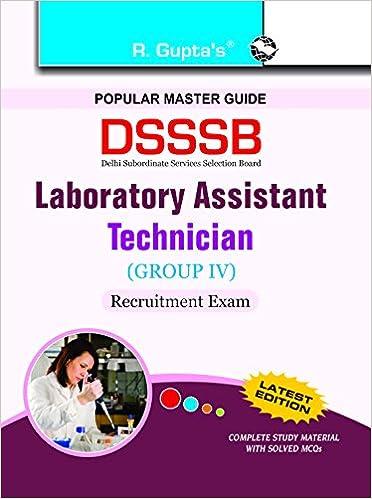 buy dsssb laboratory assistant technician assistant lab technician